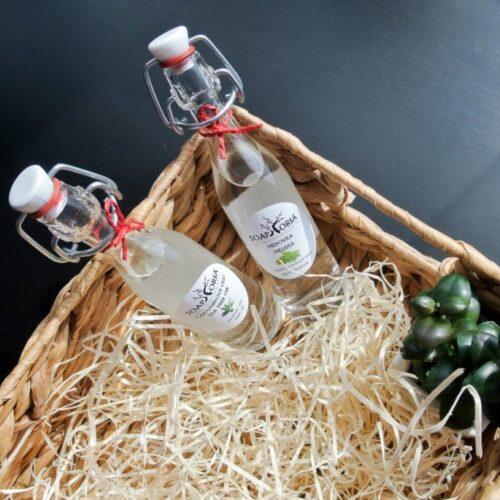 Soaphoria květinová voda a Tea Tree olej // recenze