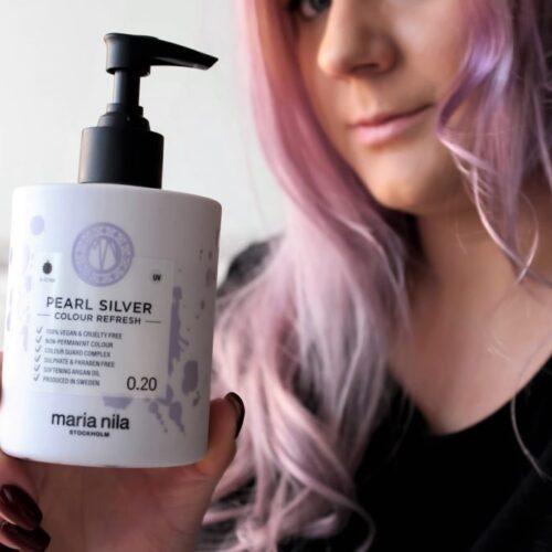 Maria Nila barevné masky na vlasy    recenze