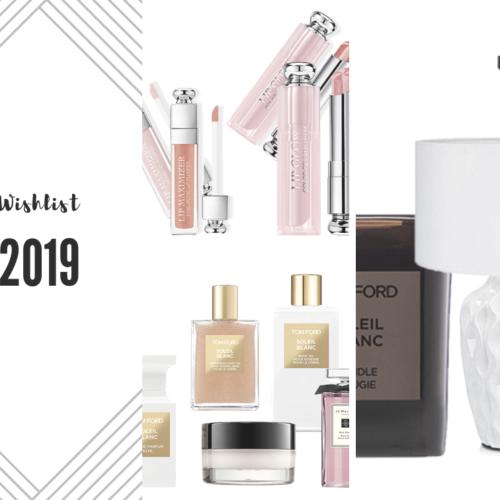 Wishlist 2019