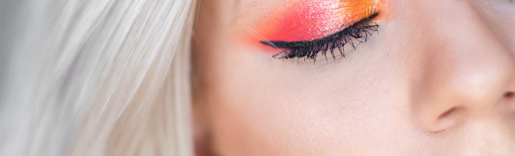 Líčení & Recenze s paletkou Huda Neon Orange!