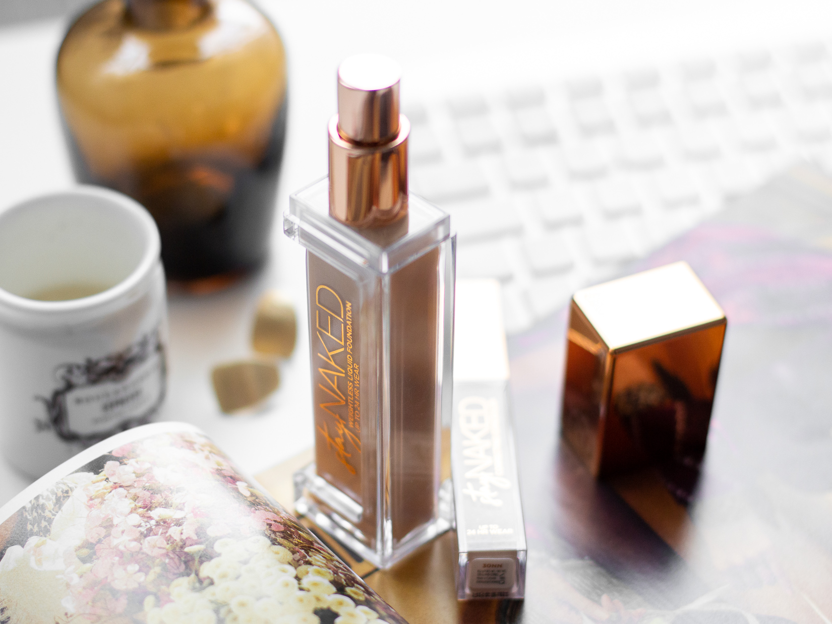Stay naked makeup a korektor urban decay recenze