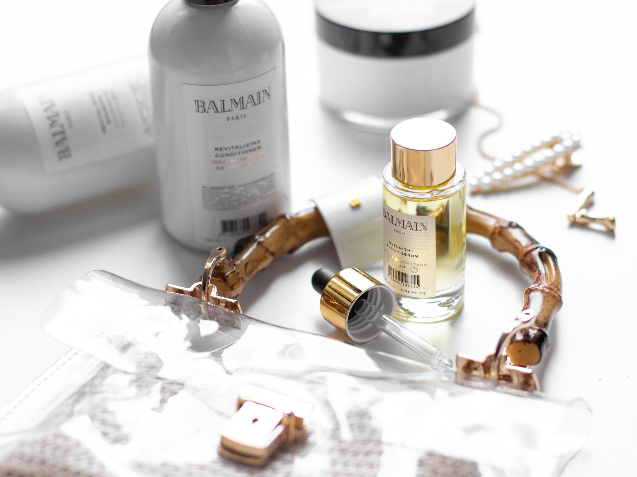 balmain overnight reapir serum olejíček zkušenosti
