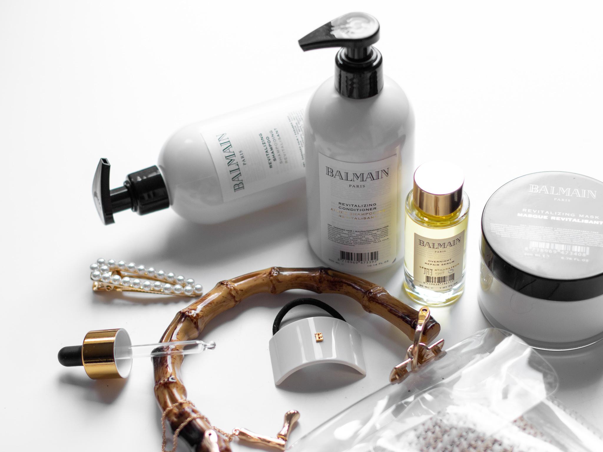 balmain revitalizing šampon a kondicionér