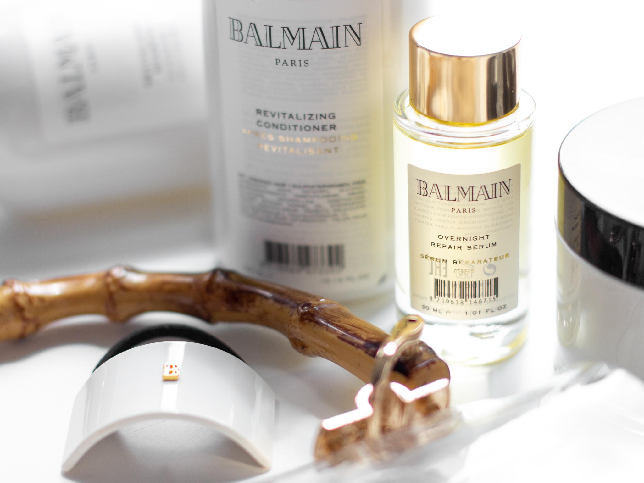 balmain overnight reapir serum recenze blog