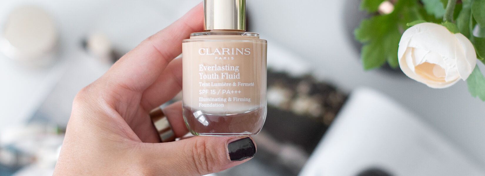 MAKEUP TALK! Clarins Everlasting Youth Fluid makeup || recenze