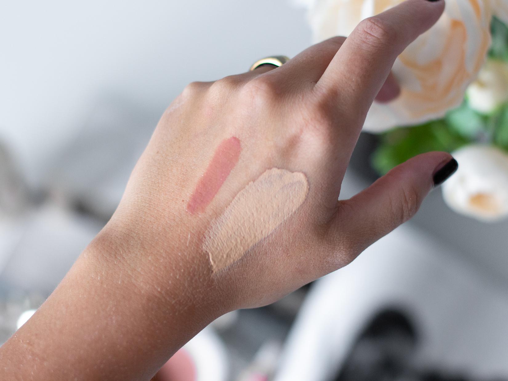 clarins hydratační makeup youth fluid 108 odstín swatche