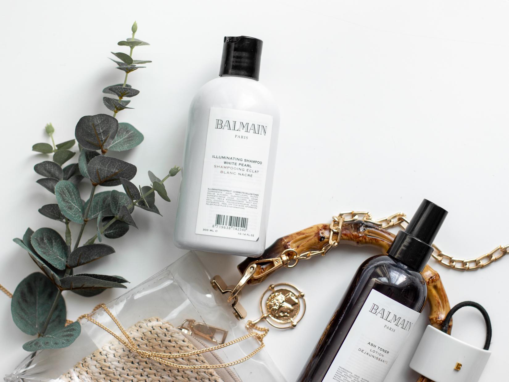 balmain illuminating white pearl šampon