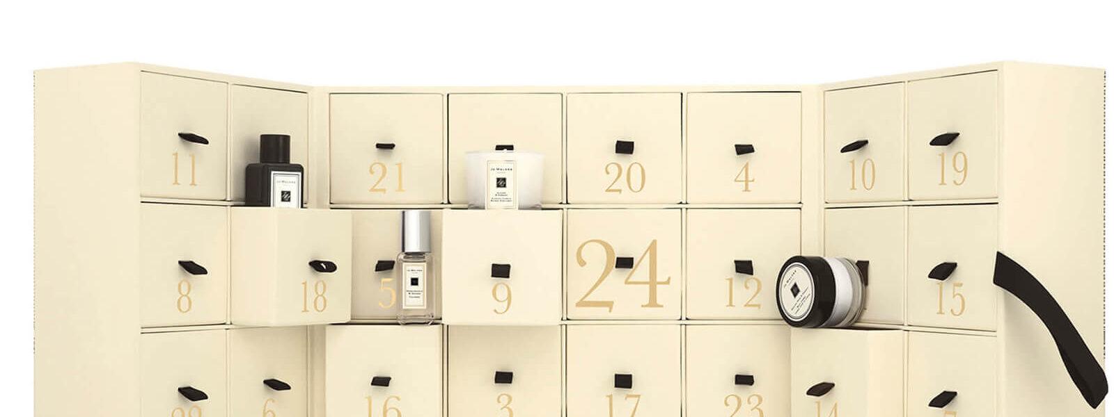 Nejkrásnější kosmetické adventní kalendáře 2019