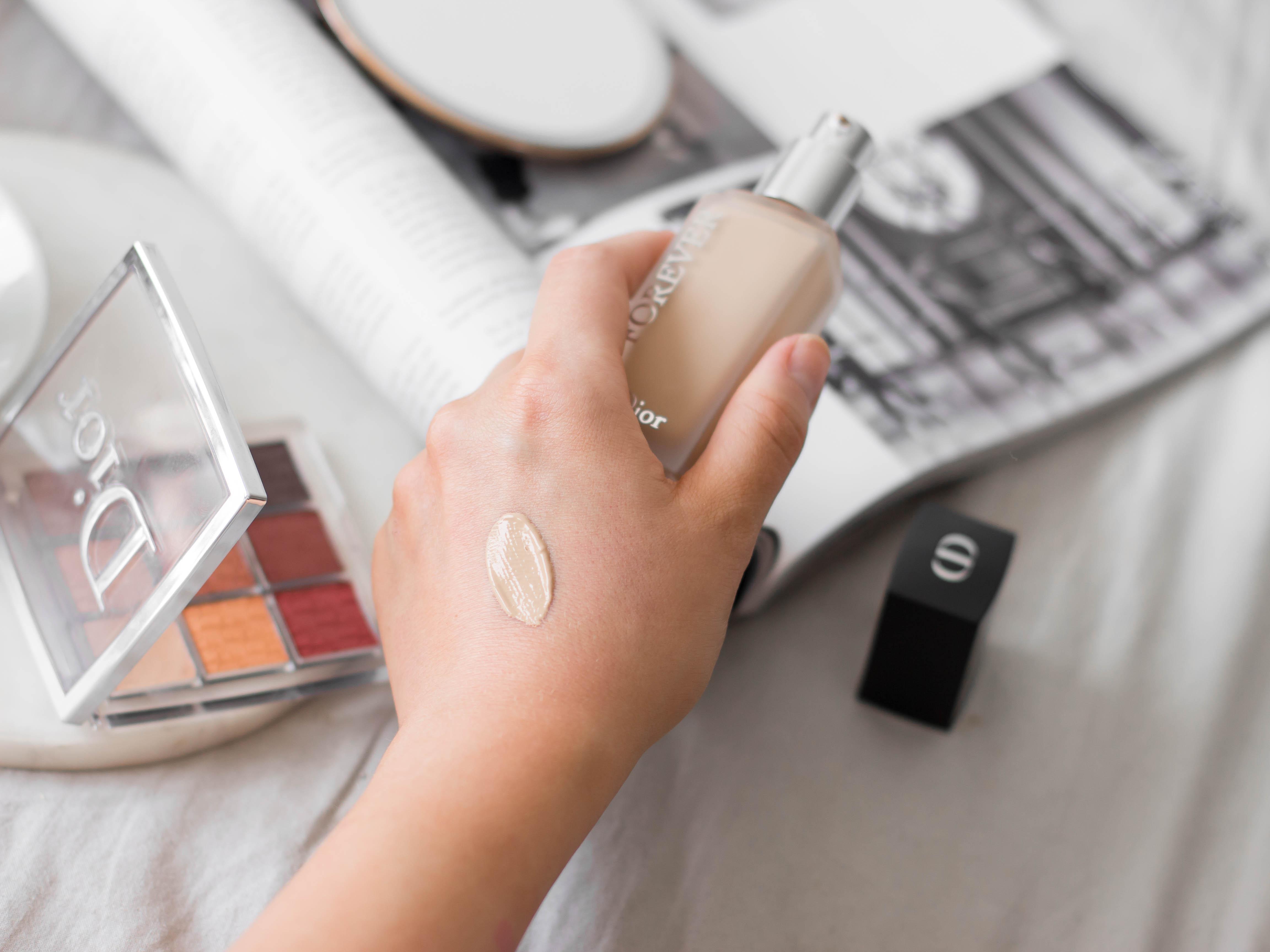 dior forever matte makeup swatche