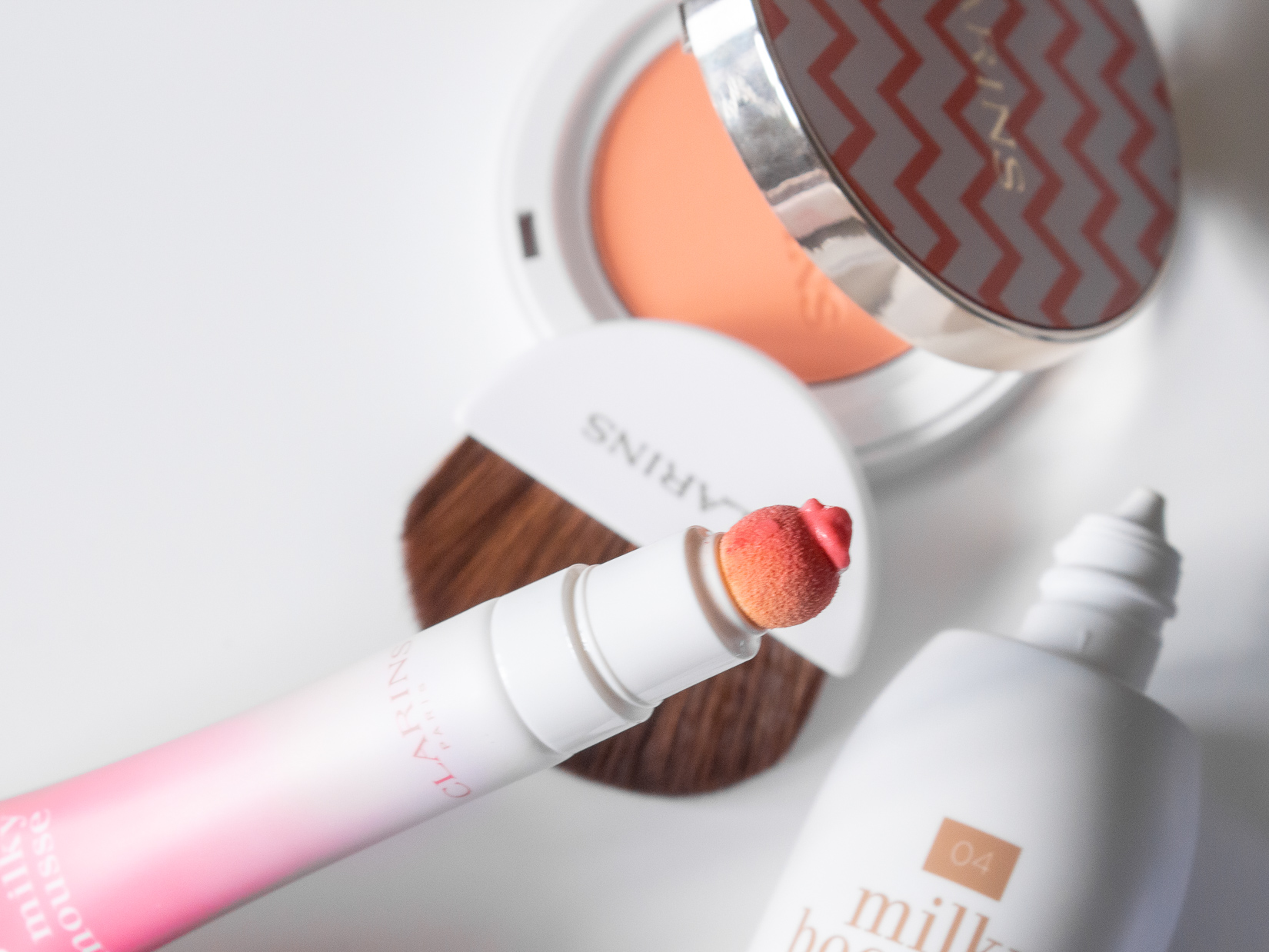 clarins lip milky mousse 03 milky pink blog